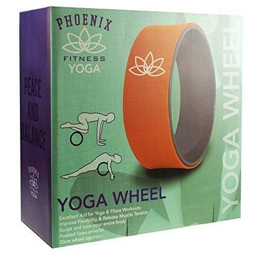Yoga Wheel - Phoenix Fitness Foam Back Stretch Roller Body Chest Spine Gym -  yoga wheel phoenix fitness foam back stretch roller body chest spine