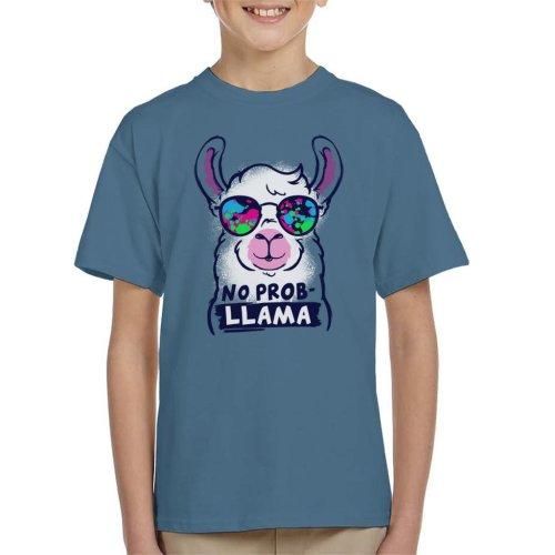 No Prob Llama Kid's T-Shirt