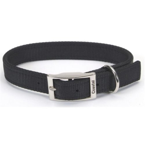 Coastal Pet Products CO06430 24 in. Double Web Collar - Black