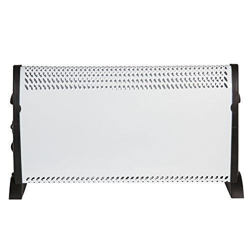 Igenix IG5300 Portable Electric Convector Heater with Adjustable Thermostat and Overheat Protection, Freestanding, Ideal for Home or Office, 3000...