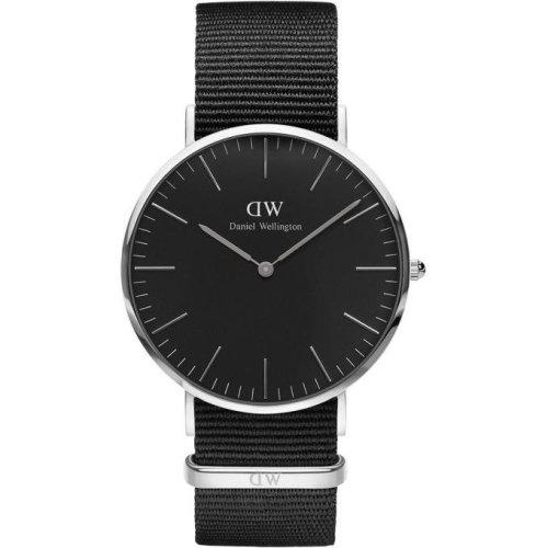 Daniel Wellington Cornwall DW00100149 Fabric Watch Black Man