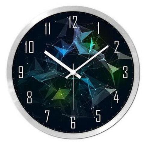 Modern & Personality Circular Clock Living Room Decorative Silent Round Wall Clocks, A30