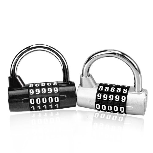 1a0d077edd2d Combination Padlock Astarye 2 Pack with 5-Digit Smooth Dial Resetable Anti  Rust Padlock Set for School ,Outdoor ,Travel Luggage, Suitcase Toolbox...