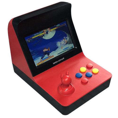 Mini Retro Arcade Game Machine With 3000 Classic Games - Red / Black
