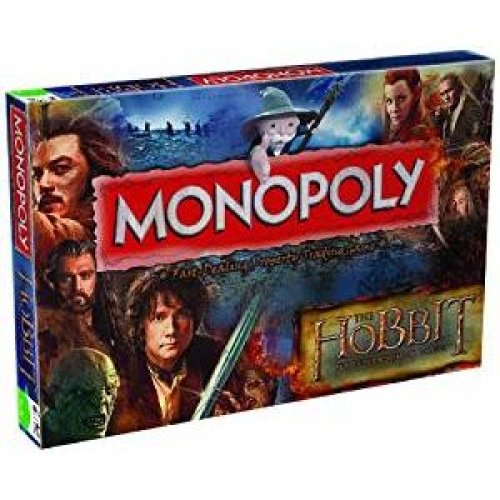 The Hobbit Desolation of Smaug Monopoly Family Board Game Brand New Sealed