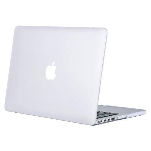 "Quatrefoil GRAY Case+Keyboard Cover for Macbook Pro 13/"" Retina A1425//A1502"