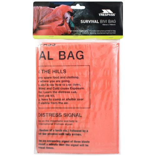 Trespass Radiator High Visibility Bivi Survival Bag