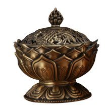 Stove Vaporizer Tea Room Temple Ornaments Auspicious Sandalwood Incense Burner