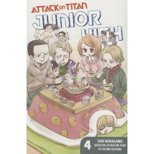 Attack on Titan: Junior High 4: 4