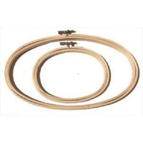 """Oval Embroidery Hoop - 8"""" x 12"""""""