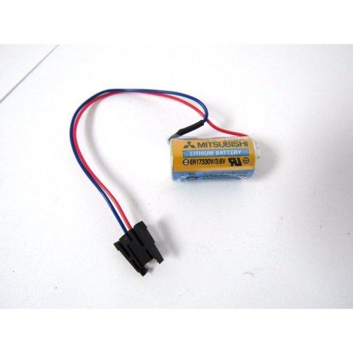 Battery for Mitsubishi A6BAT A6 BAT ER17330V 3.6V 2000mAh Lithium Plug