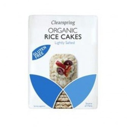 Clearspring - Org Wholegrain Thin Rice Cakes 130 g