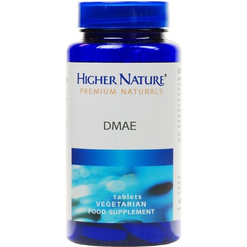 Higher Nature Premium Naturals Dmae 60 Tablets