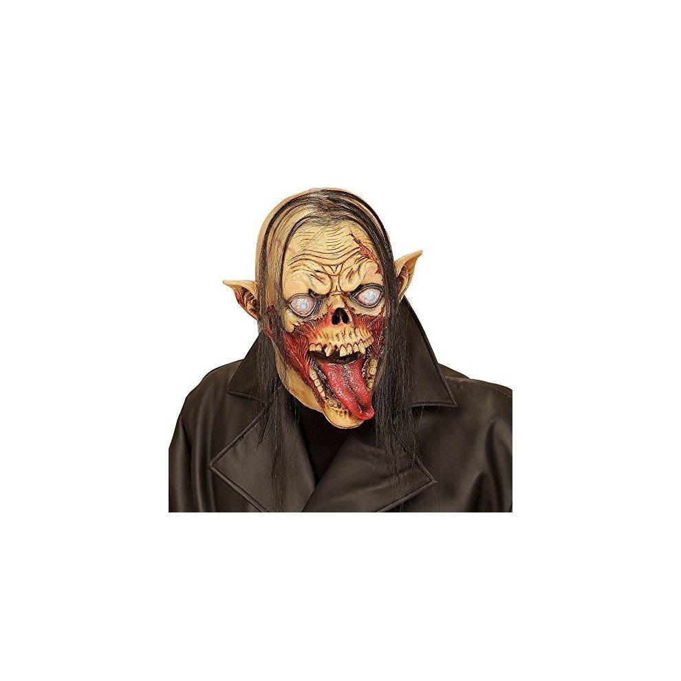 b23cf359ce0 Full Face Mask With Hair Vampire Zombie - vampire zombie full head mask  hair accessory dracula halloween fan