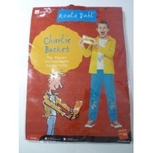 Medium Boy's Charlie Bucket Costume -  fancy dress costume roald dahl book charlie bucket boys day kids week character