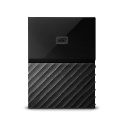 Western Digital My Passport for Mac Micro-USB B 3.0 (3.1 Gen 1) 1000GB Black external hard drive
