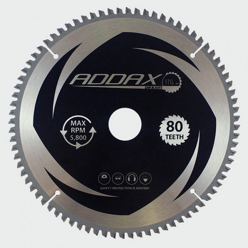 Addax C2503080 TCT Circular Saw Blade 250 x 30 x 80T