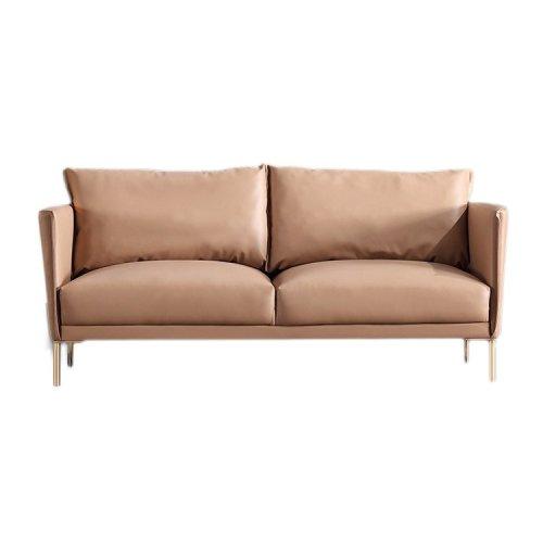 Contemporary 2 Seater Sofa Premium Grade Microfiber/PU Leather