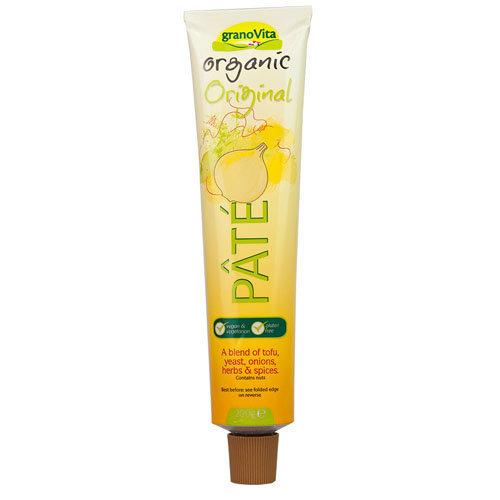 Granovita  Vegetarian Original Yeast Pate - Organic Tube 200g x 12