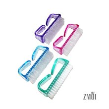 ZMOI 4 Pieces Handle Clean Nail Brush Nail Hand Scrubbing Cleaning Brush