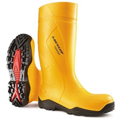 Dunlop C76224105 Purofort + Full Safety Yellow Wellingtons Size 5