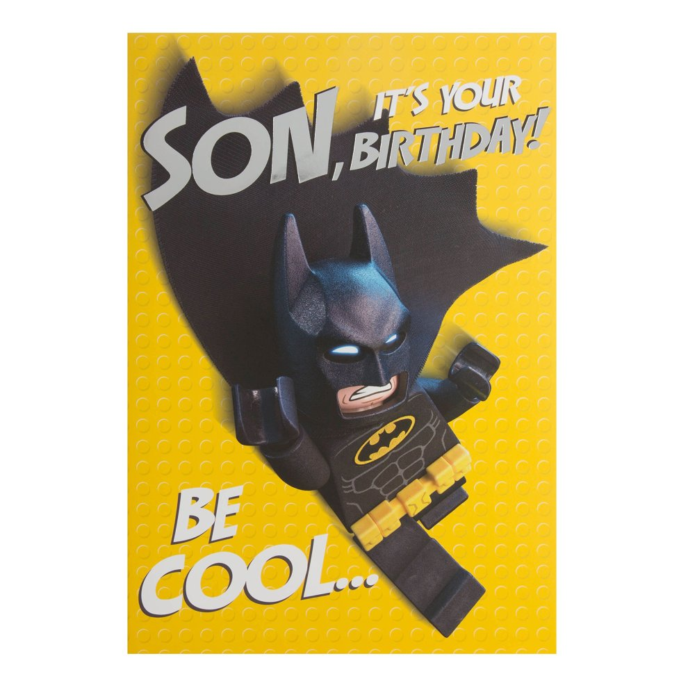 Hallmark Pop Up Lego Batman Birthday Card For Son