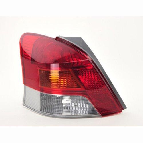 Toyota Yaris Mk2 6/2009-2011 Rear Tail Light Passenger Side N/s