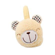 Winter accessory Child Yellow Bear Earmuffs Ear warmer plush Warm knit cover   #24