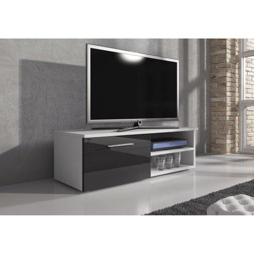 "e-Com - TV Unit Cabinet Stand Sideboard ""VEGAS"" - 120 cm"
