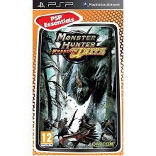 Monster Hunter Freedom Unite Essentials Edition Sony PSP Game