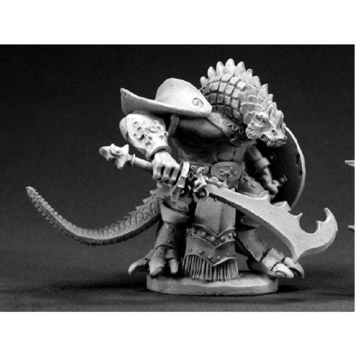 Reaper Dark Heaven Legends 03390 Kar'Drakir Reptus Dragonman Warrior