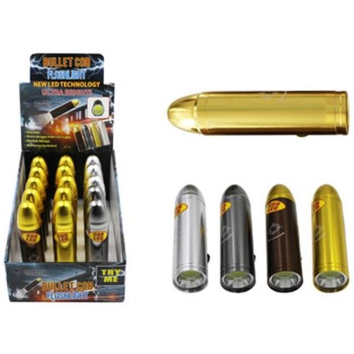 DDI 2128617 COB LED Bullet Flashlight