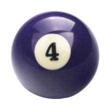 1 PCS Cue Sport Snooker USA Pool Billiard Balls 57.2 mm /2-1/4 - NO.4
