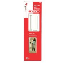 Stork Child Care Tall White Gate Extension 27cm Wide