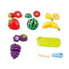 Set of Six Small Lovely Cut Fruit Toys Kitchen Model Toys
