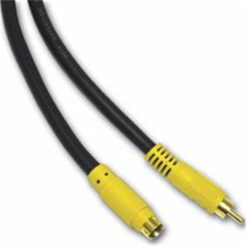 Cables To Go 27963 3ft BI-DIRECTIONAL S-VIDEO to  RCA CABLE