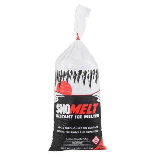SnoMelt S010BG 10 lbs Calcium Chloride Pellet Bag