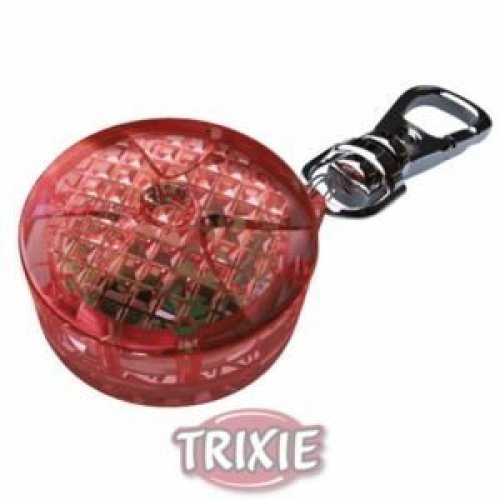 Trixie Safer Life Flasher For Dogs And Cats, 2.5 Cm, Red - Cats 25cm Night -  flasher trixie dogs cats red safer life 25 cm night light
