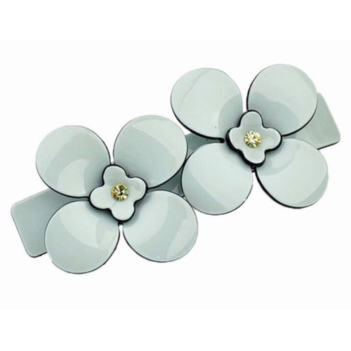 High Quality Plum Flower Hairpin Girl's Elegant Hair Barrette/Clip, F