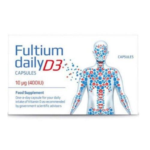 Fultium Daily D3 400iu 60 Capsules
