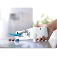 Multifunction Mini Portable Handy Stitch Handheld Power-driven Sewing Machine Sew Supplies
