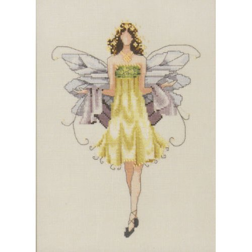 Pixie Couture Collection Daisy Counted Cross Stitch Chart Pattern