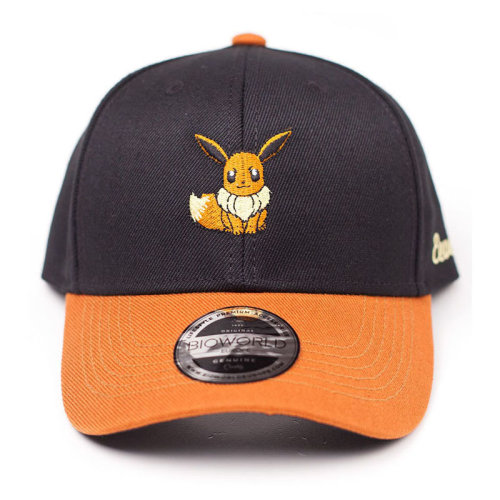 7445193a3b3 POKEMON Embroidered Eevee Curved Bill Baseball Cap