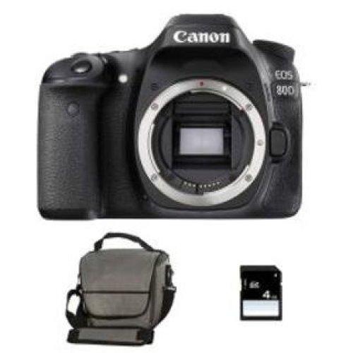 CANON EOS 80D Body + Canon Bag+8gb SD card
