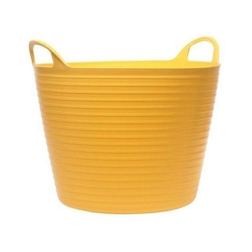 26 Litre Flexi Tub Bucket Yellow