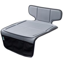 Car Seat Protector for Child Seats - Waterproof,  ISOFIX Compatible, Grey