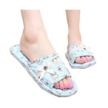 Classic Slippers For Women/Elegant Flowers Pattern Style Cotton Slippers