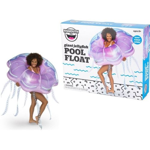 BigMouth Inflatable Giant Jellyfish Pool Float Beach Holiday Swimming Lounger Water Beach