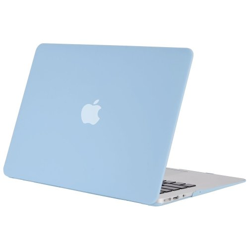 MOSISO Ultra Slim Plastic Hard Shell Snap On Case Cover for MacBook Air 13 Inch (A1466 & A1369), Airy Blue