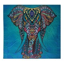 SOFO Indian Mandala Elephant Tapestry Wall Hanging Blanket